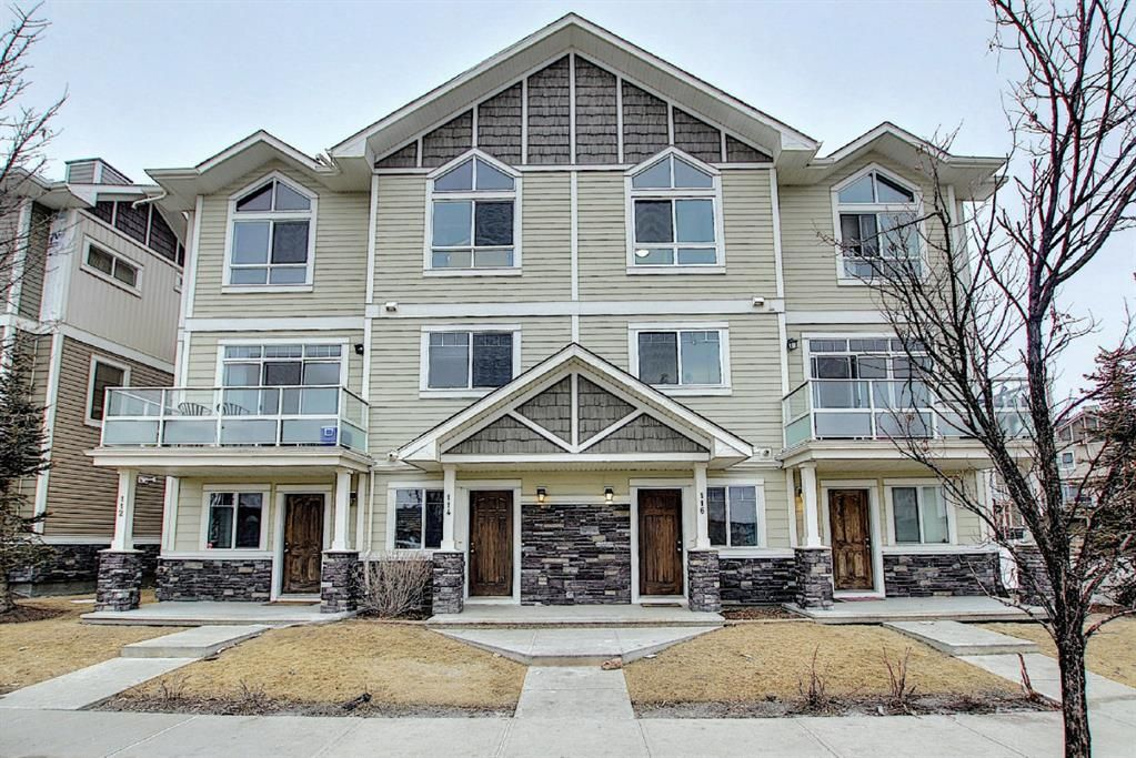 Main Photo: 116 SKYVIEW RANCH Road NE in Calgary: Skyview Ranch Row/Townhouse for sale : MLS®# A1078168