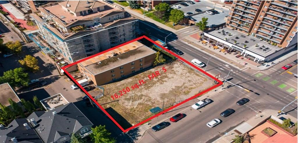 Main Photo: 1301 12 Avenue SW in Calgary: Beltline Residential Land for sale : MLS®# A1101849
