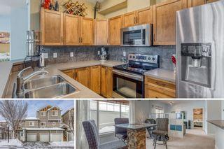 Photo 1: 1401 281 COUGAR RIDGE Drive SW in Calgary: Cougar Ridge Row/Townhouse for sale : MLS®# A1070231