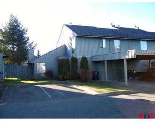 "Photo 1: 3030 TRETHEWEY Street in Abbotsford: Abbotsford West Townhouse for sale in ""Clearbrook Village"" : MLS®# F2700195"