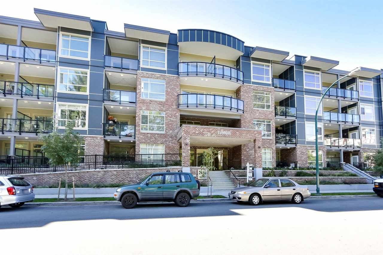 """Main Photo: 209 2436 KELLY Avenue in Port Coquitlam: Central Pt Coquitlam Condo for sale in """"LUMIERE"""" : MLS®# R2492812"""