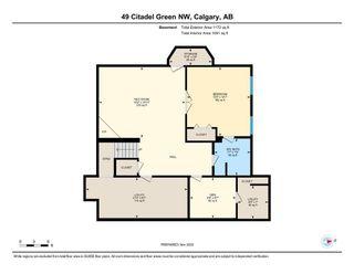 Photo 49: 49 Citadel Green NW in Calgary: Citadel Detached for sale : MLS®# A1050398