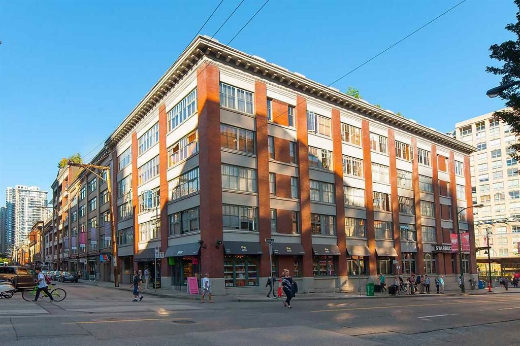 Main Photo: 201 1178 Hamilton Street in Vancouver: Yaletown Condo for sale (Vancouver West)  : MLS®# R2090126