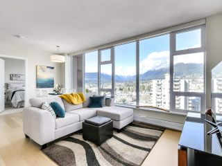 "Photo 1: 1401 150 W 15TH Street in North Vancouver: Central Lonsdale Condo for sale in ""15 West"" : MLS®# R2537738"