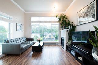 "Photo 3: 408 2268 W 12TH Avenue in Vancouver: Kitsilano Condo for sale in ""THE CONNAUGHT"" (Vancouver West)  : MLS®# R2618218"