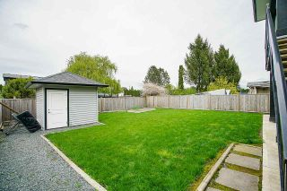 Photo 37: 46505 BROOKS Avenue in Chilliwack: Chilliwack E Young-Yale House for sale : MLS®# R2585247