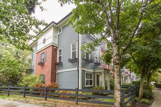 """Photo 1: 21 19538 BISHOPS REACH in Pitt Meadows: South Meadows Townhouse for sale in """"Turnstone"""" : MLS®# R2617957"""