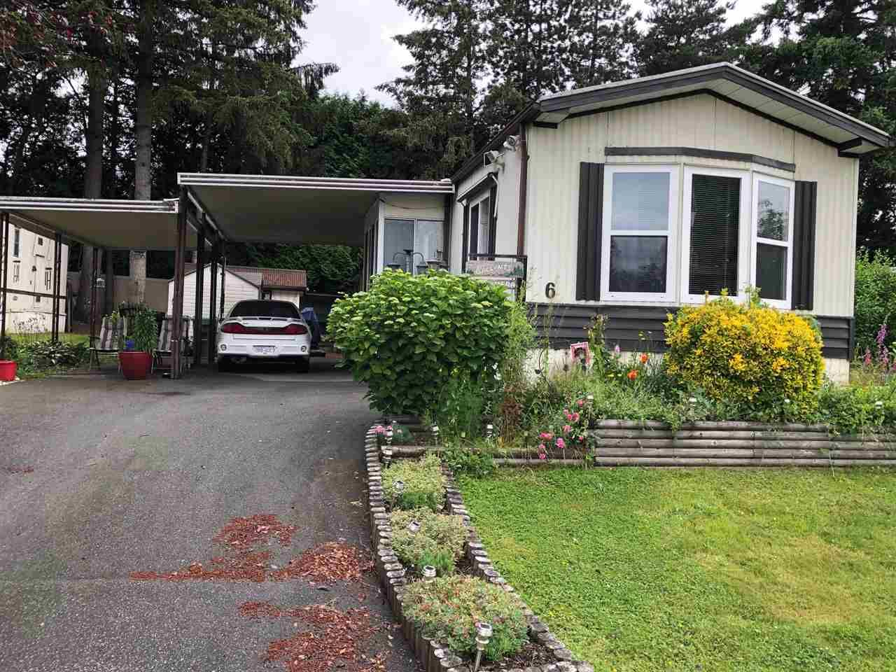 Main Photo: 6 7790 KING GEORGE Boulevard in Surrey: East Newton Manufactured Home for sale : MLS®# R2468976