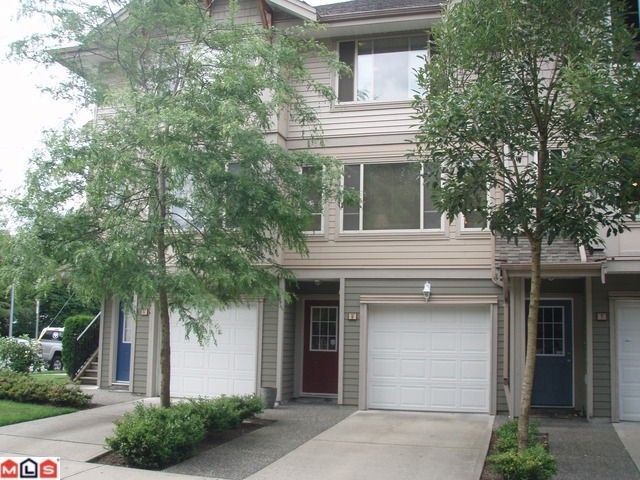 """Main Photo: # 8 5388 201A ST in Langley: Langley City Townhouse for sale in """"THE COURTYARD"""" : MLS®# F1301827"""