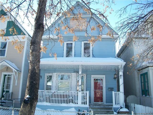 Main Photo: 414 Victor Street in WINNIPEG: West End / Wolseley Residential for sale (West Winnipeg)  : MLS®# 1002573