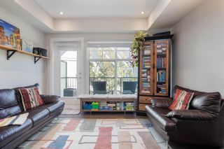 """Photo 1: 7 5152 CANADA Way in Burnaby: Burnaby Lake Townhouse for sale in """"SAVILE ROW"""" (Burnaby South)  : MLS®# R2599311"""
