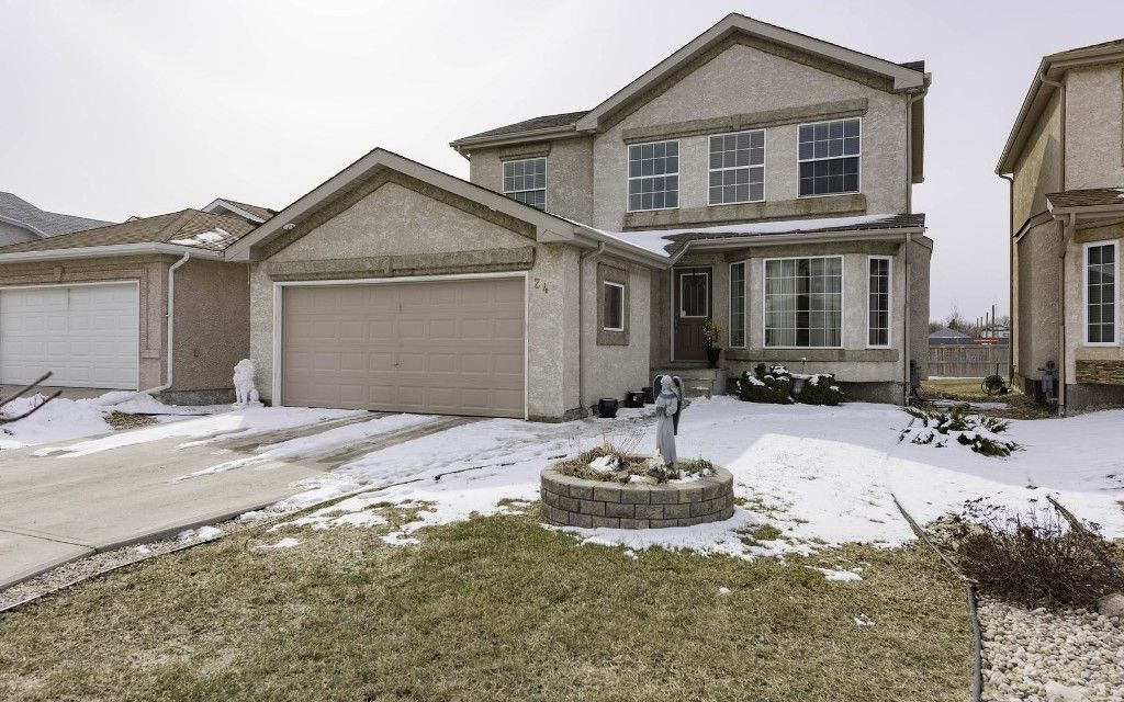 Main Photo: 24 Basel Avenue in Winnipeg: Single Family Attached for sale : MLS®# 1606898