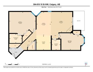 Photo 28: 304 818 10 Street NW in Calgary: Sunnyside Apartment for sale : MLS®# A1150146