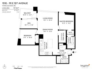 """Photo 26: 1510 111 E 1ST Avenue in Vancouver: Mount Pleasant VE Condo for sale in """"BLOCK 100"""" (Vancouver East)  : MLS®# R2607097"""