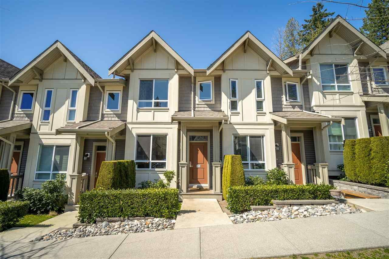 "Main Photo: 17 3395 GALLOWAY Avenue in Coquitlam: Burke Mountain Townhouse for sale in ""WYNWOOD"" : MLS®# R2568101"
