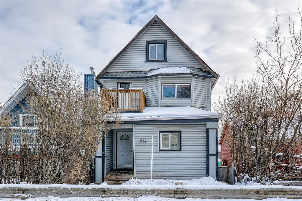 Main Photo: 1814 8 Street SE in Calgary: Ramsay Detached for sale : MLS®# A1069047