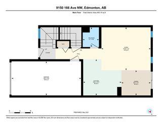 Photo 5: 9150 166 Avenue in Edmonton: Zone 28 House Half Duplex for sale : MLS®# E4246760