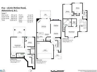 """Photo 36: 24 36260 MCKEE Road in Abbotsford: Abbotsford East Townhouse for sale in """"King's Gate"""" : MLS®# R2501750"""