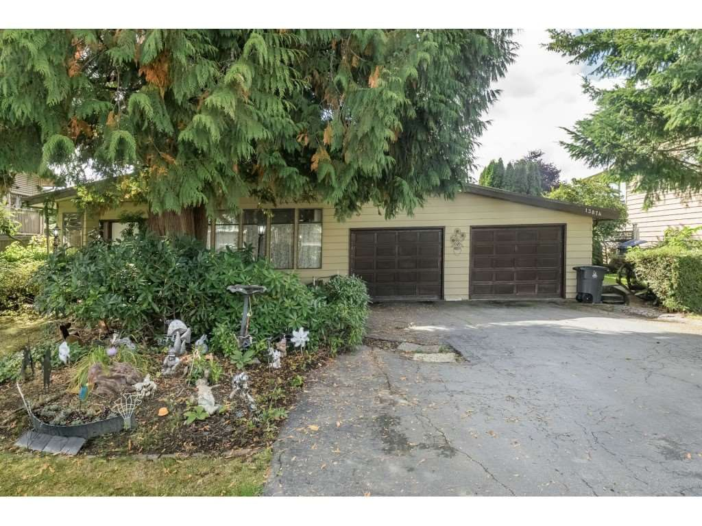 Main Photo: 13874 FALKIRK Drive in Surrey: Bear Creek Green Timbers House for sale : MLS®# R2307470