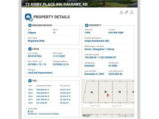Photo 32: 72 KIRBY Place SW in Calgary: Kingsland House for sale : MLS®# C4082171