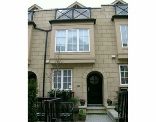 """Photo 1: 2947 LAUREL ST in Vancouver: Fairview VW Townhouse for sale in """"BROWNSTONE"""" (Vancouver West)  : MLS®# V579130"""
