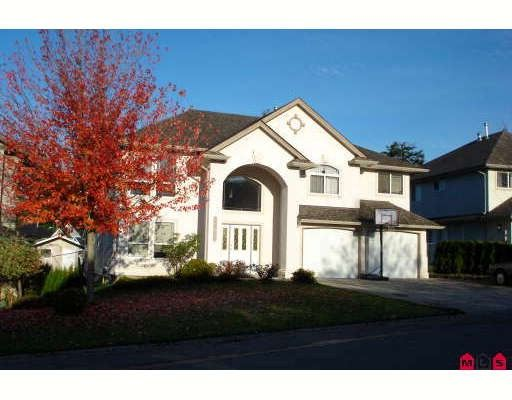 "Main Photo: 2847 BLACKHAM Drive in Abbotsford: Abbotsford East House for sale in ""MCMILLAN"" : MLS®# F2730529"