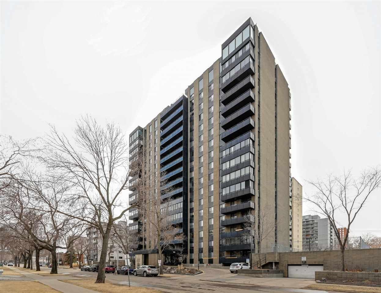 Main Photo: 806 10160 115 Street in Edmonton: Zone 12 Condo for sale : MLS®# E4236450