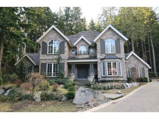 Photo 1: 316 FORESTVIEW Lane: Anmore House for sale (Port Moody)  : MLS®# V1046256