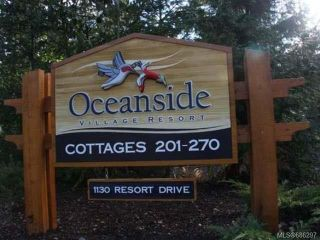 Photo 1: 231 1130 RESORT DRIVE in PARKSVILLE: PQ Parksville Row/Townhouse for sale (Parksville/Qualicum)  : MLS®# 686297