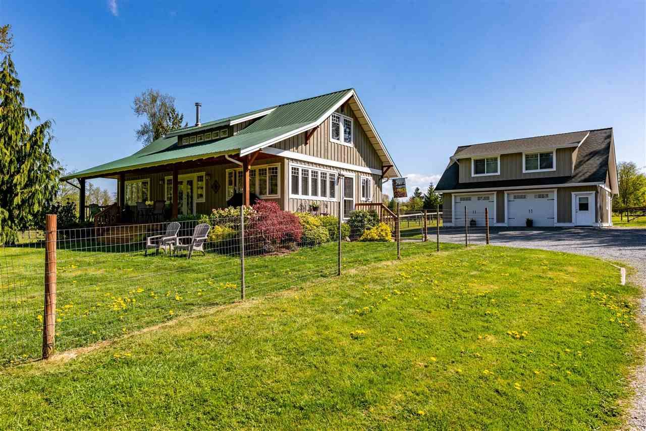 Main Photo: 7166 HESSLEA Crescent in Abbotsford: Bradner House for sale : MLS®# R2572032
