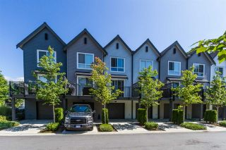 "Photo 1: 39 2310 RANGER Lane in Port Coquitlam: Riverwood Townhouse for sale in ""FREEMONT BLUE"" : MLS®# R2183988"