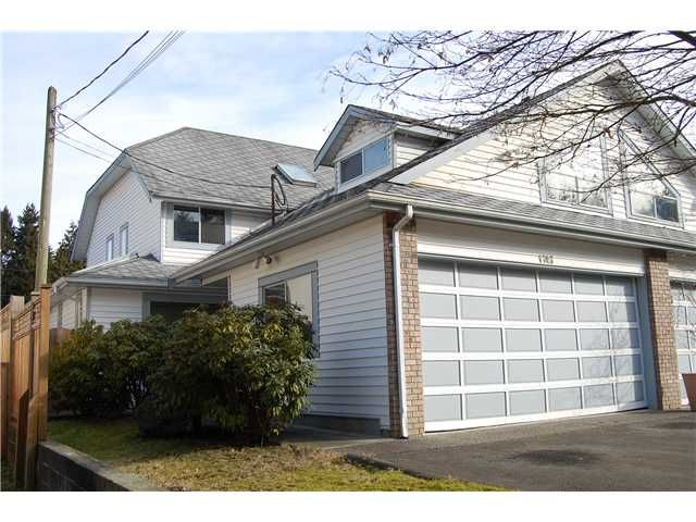Main Photo: 1743 HIE Avenue in Coquitlam: Maillardville 1/2 Duplex for sale : MLS®# V870879