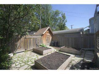 Photo 19: 295 Aubrey Street in WINNIPEG: West End / Wolseley Residential for sale (West Winnipeg)  : MLS®# 1516381