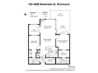"Photo 20: 103 4500 WESTWATER Drive in Richmond: Steveston South Condo for sale in ""COPPER SKY WEST"" : MLS®# R2447932"