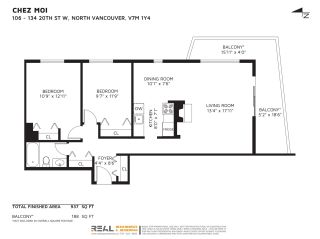 """Photo 21: 106 134 W 20TH Street in North Vancouver: Central Lonsdale Condo for sale in """"CHEZ MOI"""" : MLS®# R2507152"""