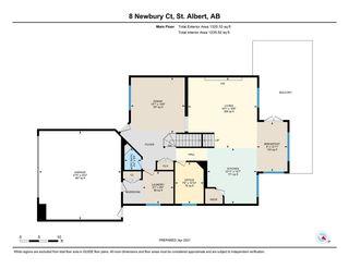 Photo 45: 8 Newbury Court: St. Albert House for sale : MLS®# E4239943