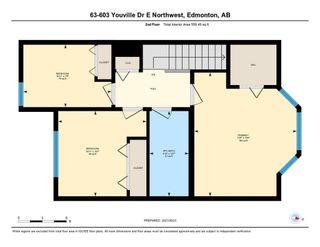 Photo 47: 63 603 Youville Drive E in Edmonton: Zone 29 Townhouse for sale : MLS®# E4266368