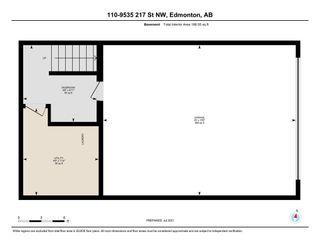 Photo 4: 110 9535 217 Street in Edmonton: Zone 58 Townhouse for sale : MLS®# E4257363