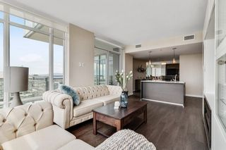 """Photo 2: 4201/02 4485 SKYLINE Drive in Burnaby: Brentwood Park Condo for sale in """"SOLO DISTRICT - ALTUS"""" (Burnaby North)  : MLS®# R2585612"""