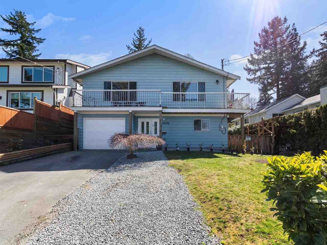 Main Photo: 14036 116 Avenue in Surrey: Bolivar Heights House for sale (North Surrey)  : MLS®# R2567591