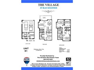 """Photo 4: 5 801 RODERICK Avenue in Coquitlam: Central Coquitlam Townhouse for sale in """"THE VILLAGE AT BLUE MOUNTAIN"""" : MLS®# V1116727"""