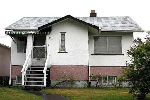 Main Photo: 2821 E BROADWAY in : Renfrew VE House for sale : MLS®# V254097