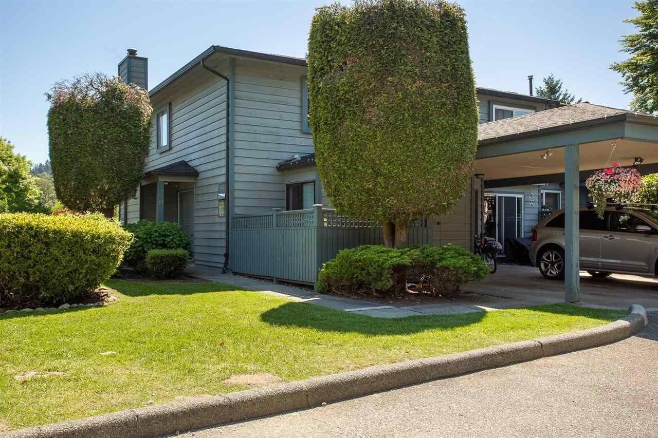 "Main Photo: 24 1170 LANSDOWNE Drive in Coquitlam: Eagle Ridge CQ Townhouse for sale in ""EAGLE RIDGE COURT"" : MLS®# R2589547"