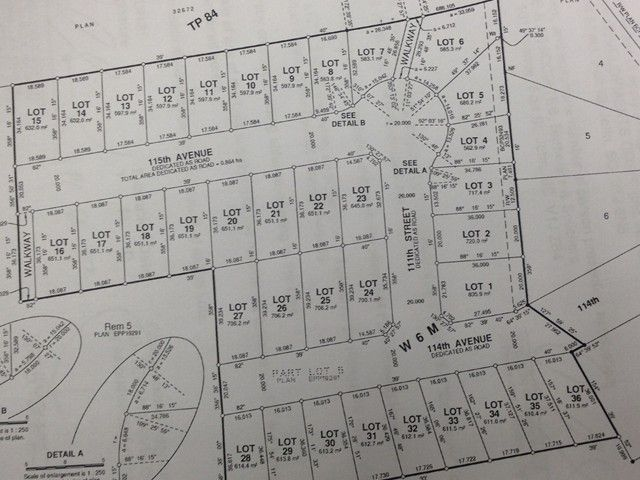 Photo 1: Photos: LOT 26 114 Street in Fort St. John: Fort St. John - City NW Land for sale (Fort St. John (Zone 60))  : MLS®# N241506