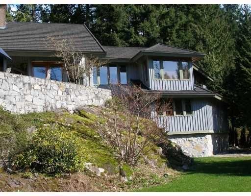 Main Photo: 4720 WOODLEY DR in West Vancouver: Cypress Park Estates House for sale ()  : MLS®# V812473