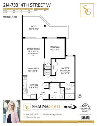 """Photo 31: 214 733 W 14TH Street in North Vancouver: Mosquito Creek Condo for sale in """"Remix"""" : MLS®# R2585098"""