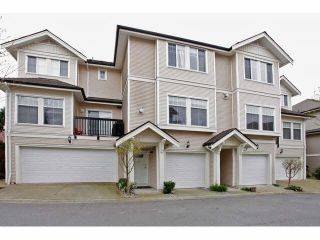 """Photo 1: 41 21535 88 Avenue in Langley: Walnut Grove Townhouse for sale in """"Redwood Lane"""" : MLS®# F1436520"""