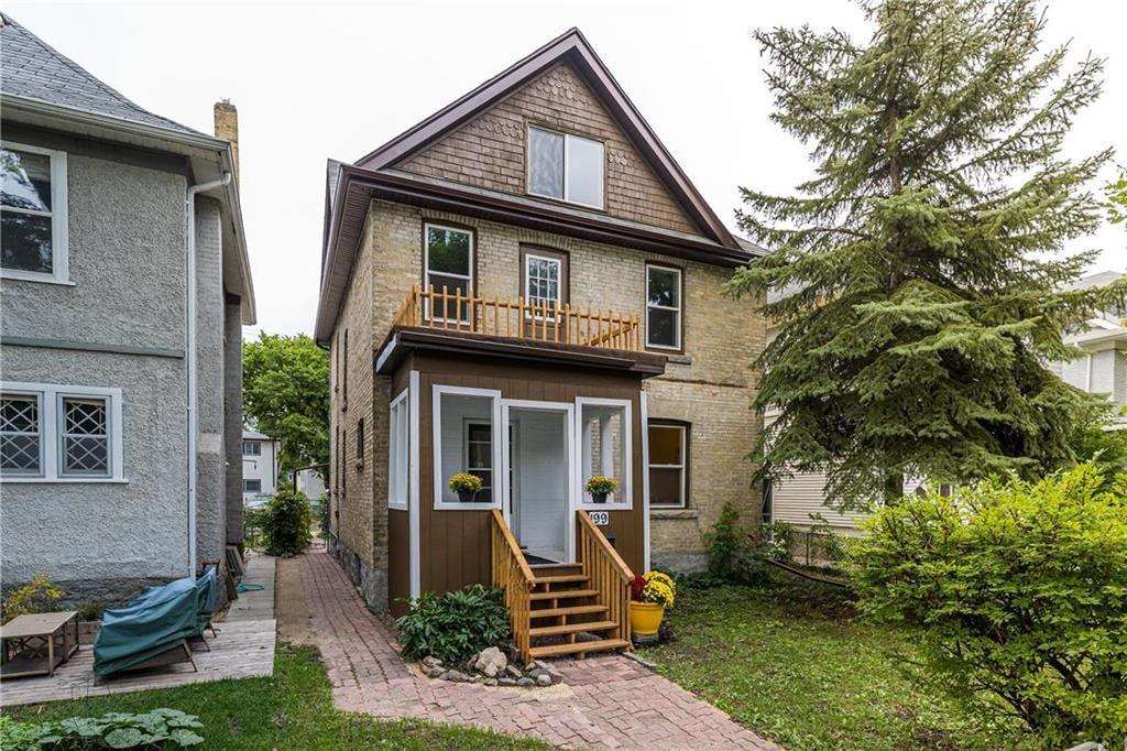 Main Photo: 199 Arlington Street in Winnipeg: Wolseley Residential for sale (5B)  : MLS®# 202120500