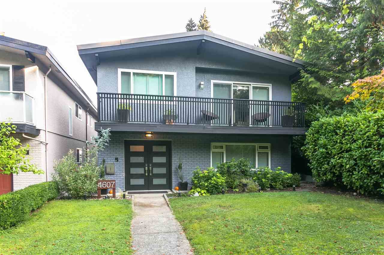 """Main Photo: 4607 W 16TH Avenue in Vancouver: Point Grey House for sale in """"Point Grey"""" (Vancouver West)  : MLS®# R2504544"""