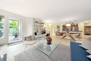 """Photo 1: 105 2161 W 12TH Avenue in Vancouver: Kitsilano Condo for sale in """"THE CARLINGS"""" (Vancouver West)  : MLS®# R2590728"""